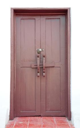 Wooden doors Stock Photo - 13092640