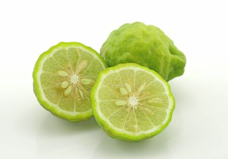 Lime isolated on a white background  Stock Photo