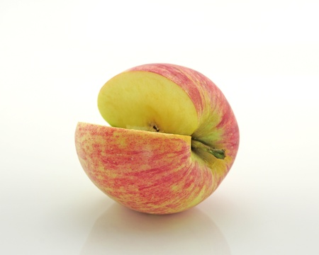Apple isolated on a white background