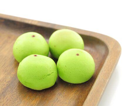 Japanese dessert - mochi Stock Photo