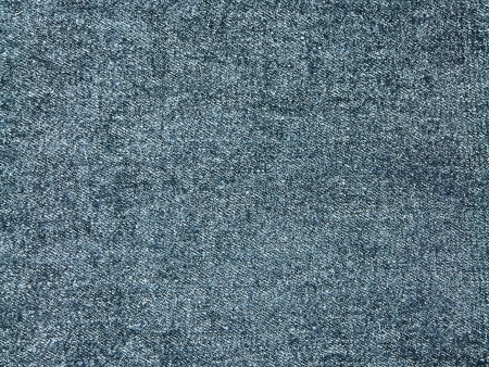 The surface of the top blue jeans.  Stock Photo