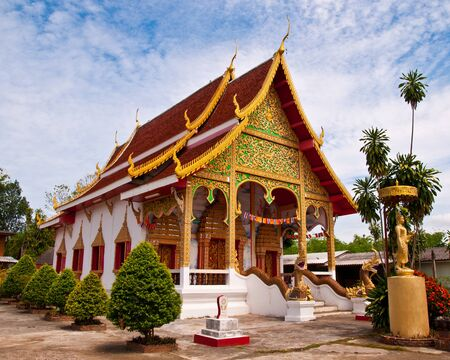 Church in the northern province of Phrae, Thailand. Stock Photo - 15431515