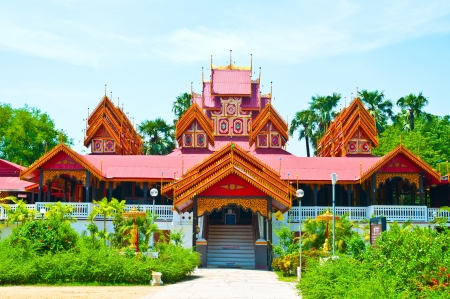 Wat Sri Rong Muang, Lampang, Thailand. Stock Photo - 15431541