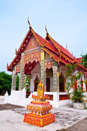 Church in the northern province of Phrae, Thailand. Stock Photo - 15431577