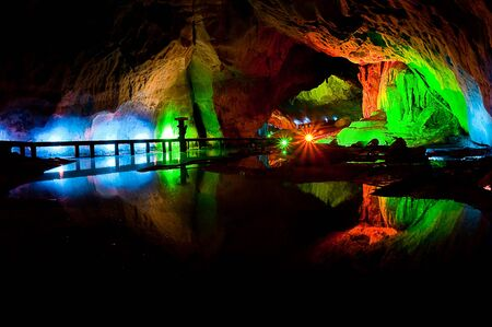 karst: Light and cave