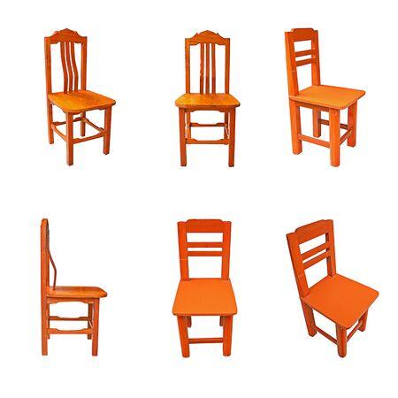 teak: Teak tables, chairs, Thailand.
