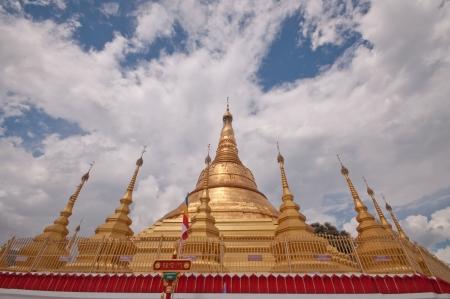 Pagoda Shwe Da pile Maha Chedi Choi Da stack  Yangon, Myanmar Stock Photo - 20904270