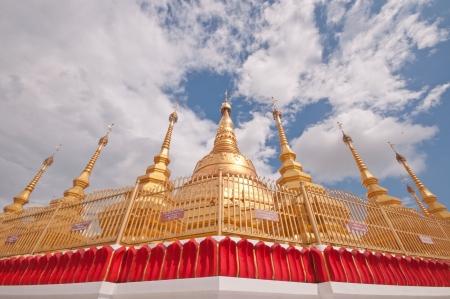 Pagoda Shwe Da pile Maha Chedi Choi Da stack  Yangon, Myanmar  Stock Photo - 20904271