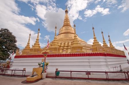 Pagoda Shwe Da pile Maha Chedi Choi Da stack  Yangon, Myanmar Stock Photo - 20904274