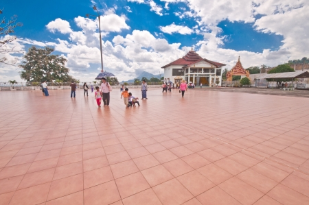 phra si rattana chedi: Myanmar November 4  Choi Da Royal sights pagoda models  Tachilek province 2012 on November 4, 2012 in Myanmar