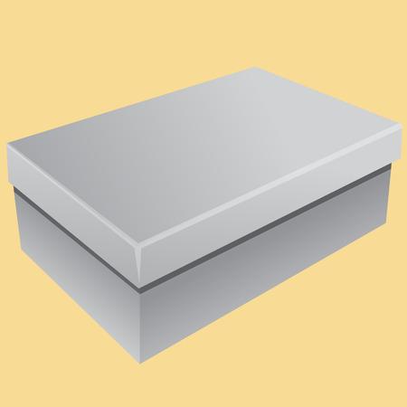 publicidad exterior: Gray box.eps10