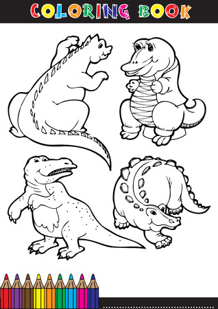 diplodocus: Cartoon Vector Illustration of Diplodocus Dinosaur Reptile Species in Prehistoric World for Coloring Book and Education