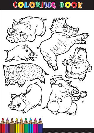 Gemütlich Schwein Färbung Blatt Galerie - Ideen färben - blsbooks.com