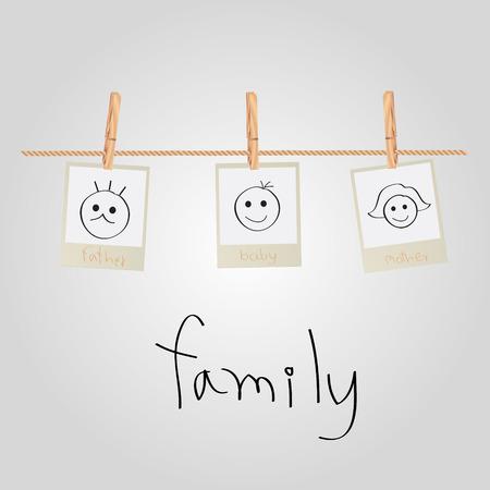 Photo de famille Banque d'images - 27152485