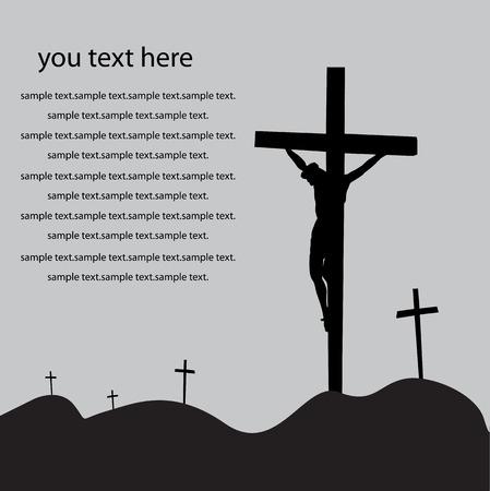 kruzifix: Jesus Ostern Auferstehung.