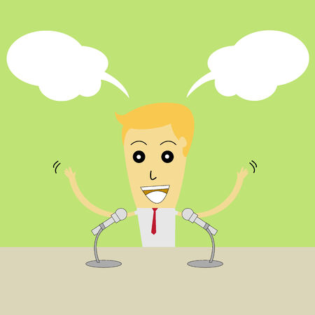 Comic speech Vector
