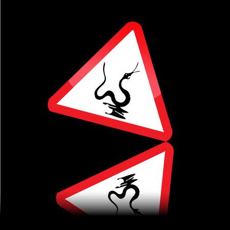 Snake danger signs