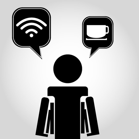 Free Zone Wireless icon Vector