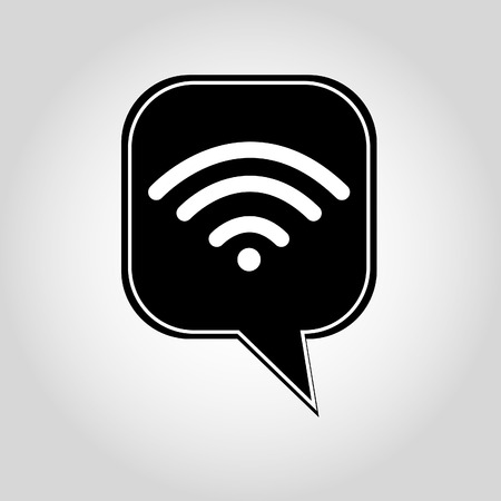 point chaud: Symbole WiFi