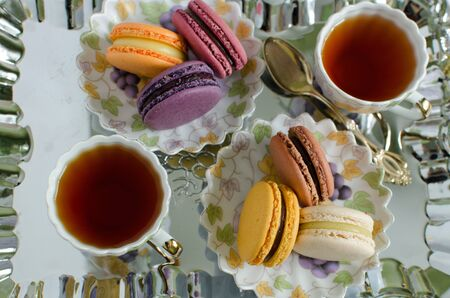 french pastry: French pastry macaroons