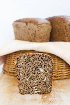 rye bread: multi-seed rye bread