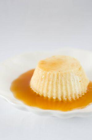 casserole: casserole of ricotta with honey
