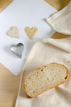 graines de sesame: Wheat bread with sesame seeds