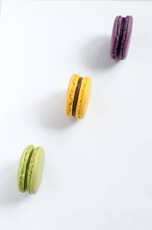 macarons: Multicolored macarons - French sweetness