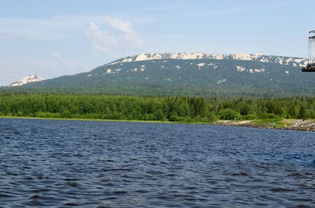 urals: Lake mountain in the southern Urals in Russia