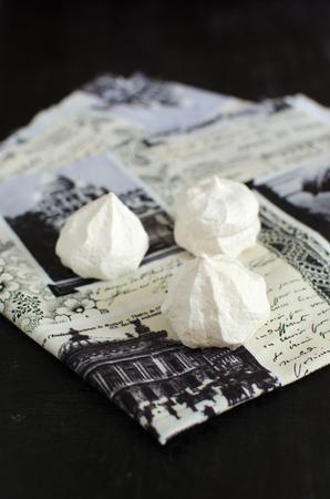 meringue: Homemade meringue Editorial