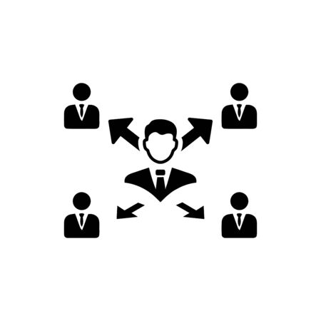 business plan, business decision icon