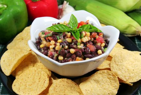 green bean: Black Bean Salsa