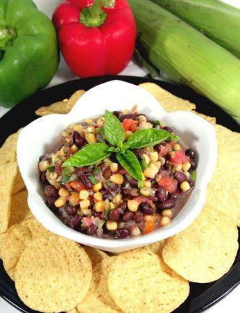Corn and Bean Salsa photo