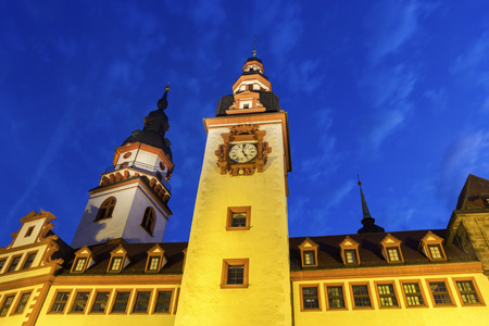old town hall: Old Town Hall of Chemnitz in Germany