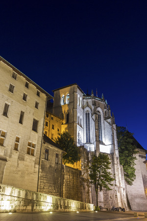 ry: Holy Chapel of the Dukes of Savoy Castle in Chambéry, France Editorial