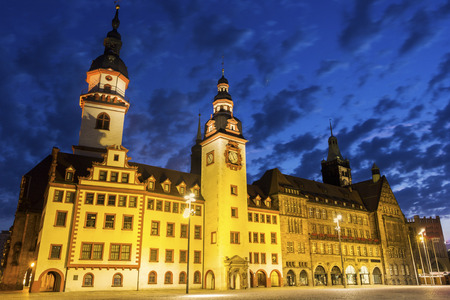 medievales: Old Town Hall of Chemnitz in Germany