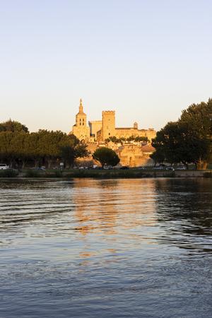 avignon: Old Town in Avignon in France