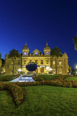 Casino in Monaco in the morning