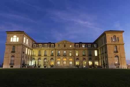 palais: Palais du Pharo in Marseilles in France