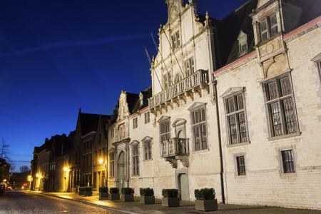 Palace of Margaret of Austria in Mechelen in Belgium
