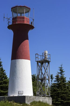 spencer: Cape Spencer Lighthouse in New Brunswick in Canada