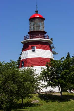 nova scotia: Seal Island Light Museum in Nova Scotia in Canada