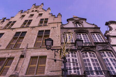 Houses in Mechelen in Belgium