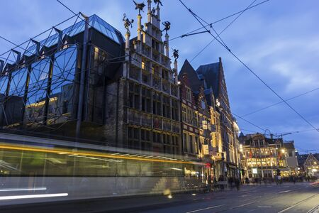 View on Ghent in Belgium