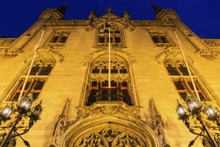 bruges: Provincial Palace in Bruges in Belgium Editorial