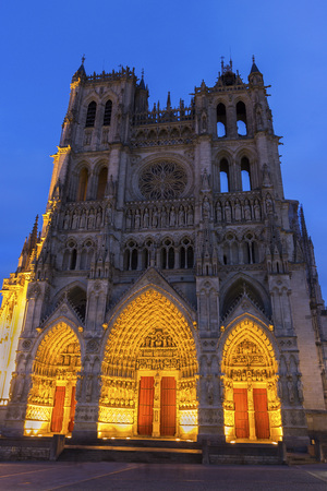 Cathedral Basilica of Our Lady in Amiens in France