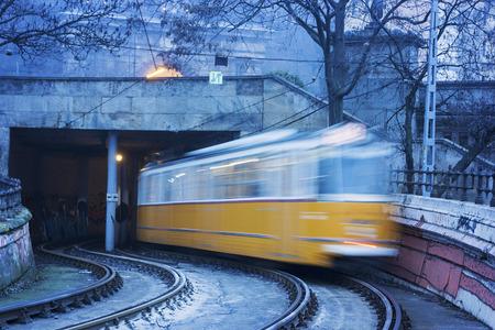 Tram in Budapest, Hungary Reklamní fotografie