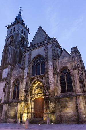 Eglise Saint-Germain in Amiens, France Reklamní fotografie