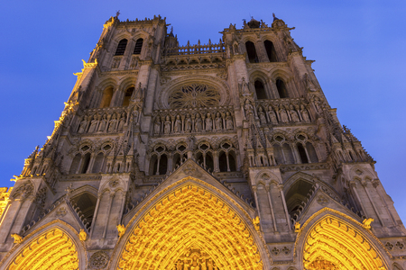 Cathedral Basilica of Our Lady in Amiens, France