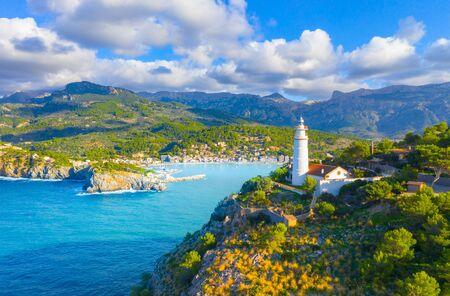 Beautiful harbour of Port de Soller, Majorca, Balearic Islands, Spain Banque d'images - 135230900